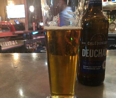 Wybór Australijczyka padł na szkockie piwo Caledonian Deuchars IPA