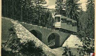 Kolej linowo-terenową na Górę Parkową uruchomiono 8 grudnia 1937 r.