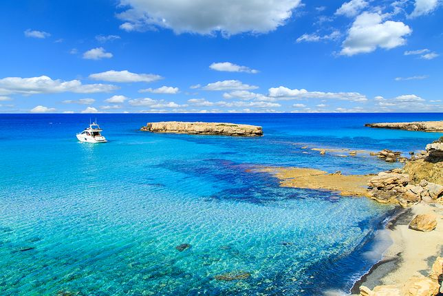 Cypryjskie plaże kuszą zwłaszcza jesienią