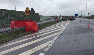 Wypadek na A1. Nie żyje kierowca