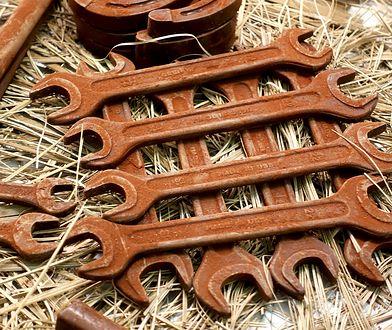 To prawdziwe narzędzia czy z czekolady? Niełatwo poznać