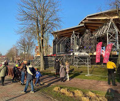 Sylwester Marzeń TVP. Mieszkańcy Ostródy planują imprezę przed płotem amfiteatru
