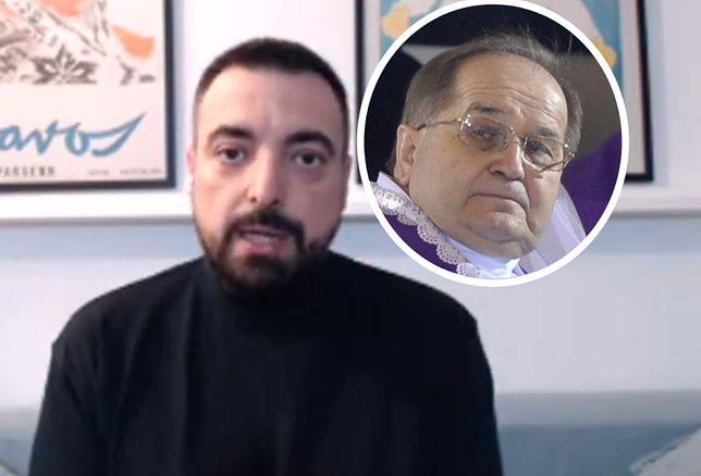 Tomasz Sekielski jest oburzony tym, jak Rydzyk broni Janiaka