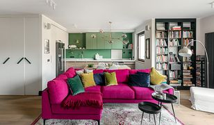 Energia magenty – odważny apartament autorstwa Finchstudio