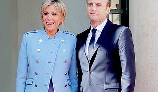 """""""Jeśli 39-latka zbałamuci mojego syna, pójdę na policję"""". Popularny dziennikarz o związku Macronów"""