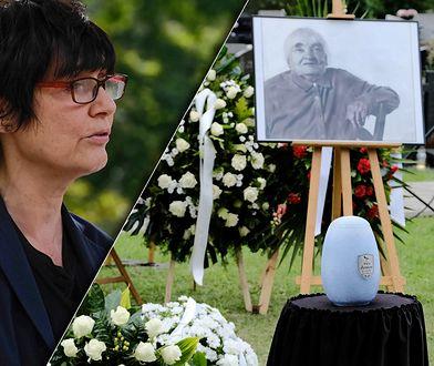 Kazimiera Szczuka na pogrzebie Marii Janion zastąpiła Olgę Tokarczuk