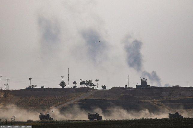 Atak Turcji na Syrię. Pentagon potwierdził, że siły USA są pod ostrzałem tureckiej artylerii