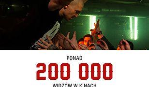 Ponad 200 tys. osób zobaczyło już film o słynnym raperze