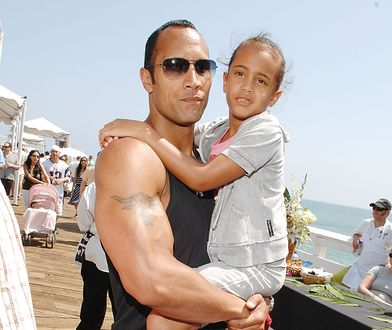 Dwayne Johnson - córka gwiazdora idzie w jego ślady. Nie chodzi o aktorstwo