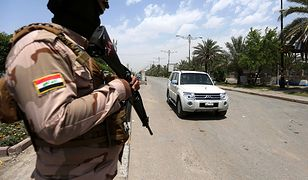 Irak. Atak rakietowy na bazę z Amerykanami