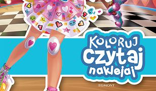 Koloruj, czytaj, naklejaj. Barbie w świecie gier. Opowieść filmowa