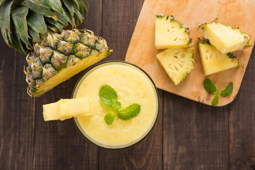 Ananas dobry na stany zapalne