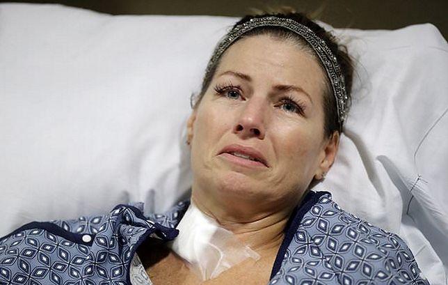 Natalie po strzelaninie trafiła do szpitala