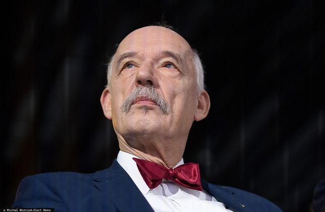 Janusz Korwin-Mikke przyzwyczaił się do ryczałtu z PE, który dostawał na prowadzenie swojego biura