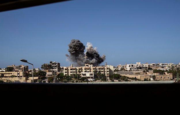 Naloty Amerykanów we wrześniu 2016 r. na opanowane przez dżihadystów tereny w libijskiej Syrcie