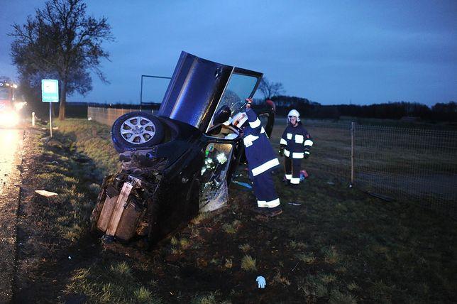 Do wypadku doszło pod Lesznem w połowie marca