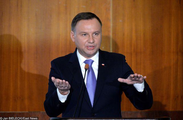 Prezydent Andrzej Duda po raz kolejny zabrał głos w sprawie zmian klimatycznych