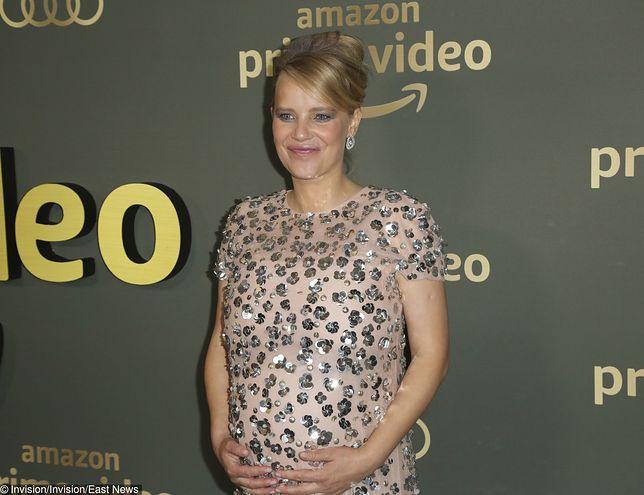 Joanna Kulig na imprezie po rozdaniu Złotych Globów