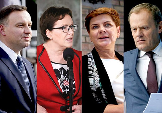 Który z polityków zna się na modzie?