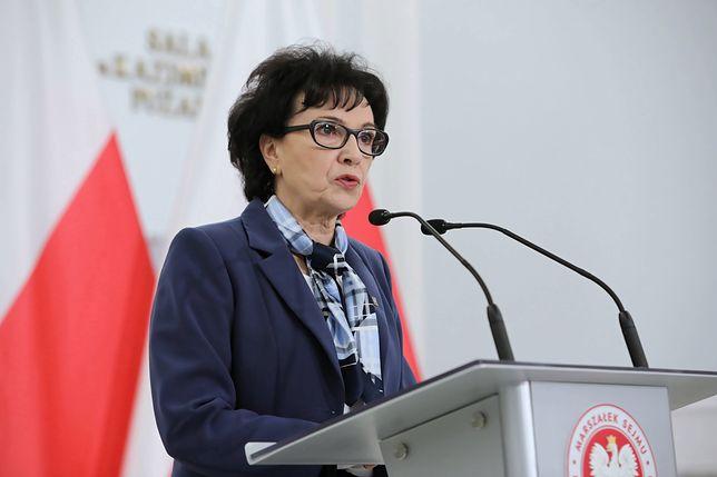 Koronawirus w Polsce. Elżbieta Witek wygłosiła orędzie. Zwróciła się do Tomasza Grodzkiego