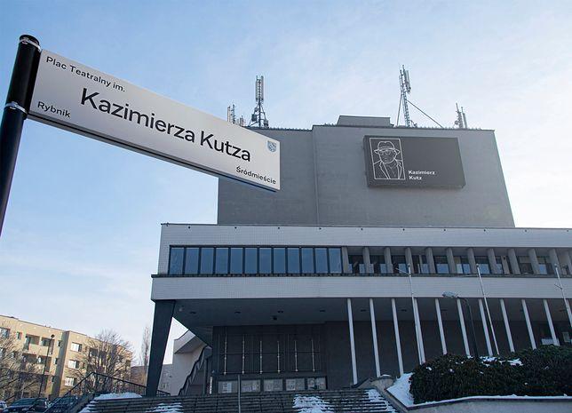 Śląsk. Wybitny reżyser Kazimierz Kutz został patronem Placu Teatralnego w Rybniku.