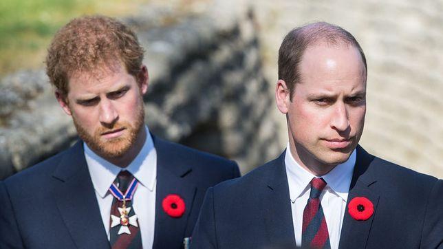 Relacje Harry'ego i Williama miały ostatnio ulec poprawie