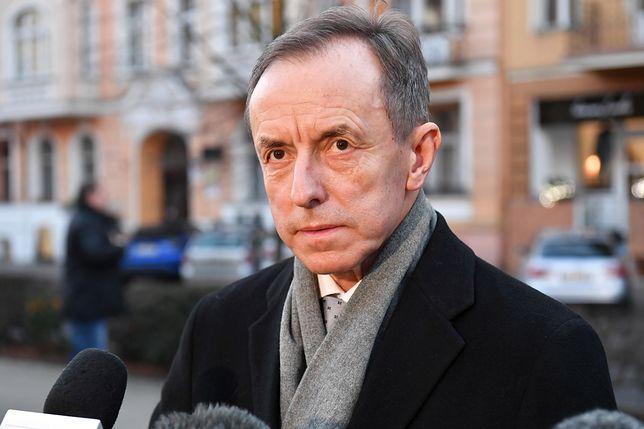 Prof. Tomasz Grodzki, marszałek Senatu