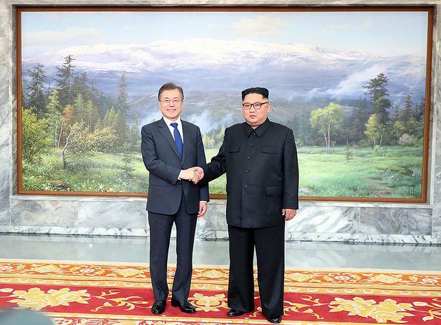 Do spotkania przywódcy Korei Południowej Mun Dze Ina z liderem Korei Północnej Kim Dzond Unem doszło w koreańskiej strefie zdemilitaryzowanej