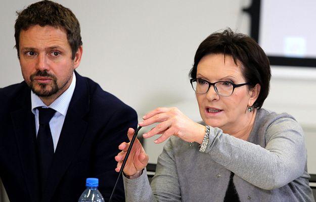 Rafał Trzaskowski i Ewa Kopacz 22 października w Krakowie