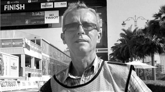 Marek Tokarski był operatorem wydarzeń sportowych dla TVP.