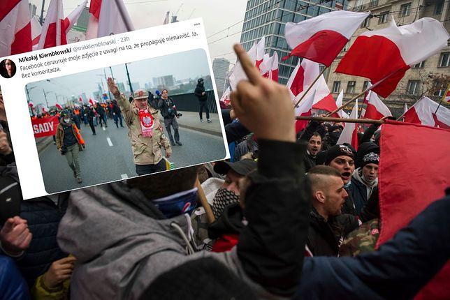 Mikołaj Kiembłowski pokazał na Twitterze zdjęcie, którego nie znajdziemy na Facebooku