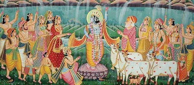 Hinduskie święto Gowardhana w Muzeum Azji i Pacyfiku