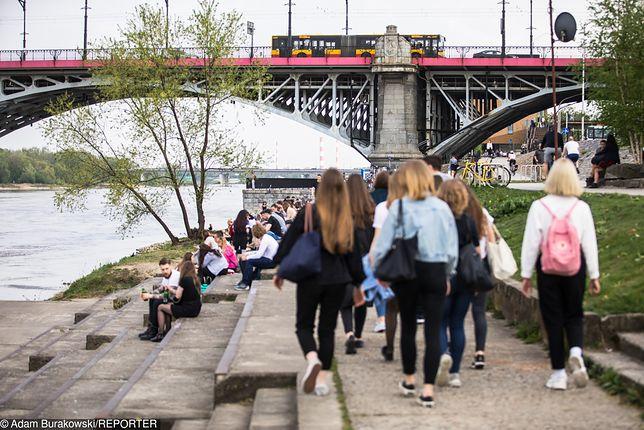 Utrudnienia na moście Poniatowskiego. Początek remontu wiaduktu