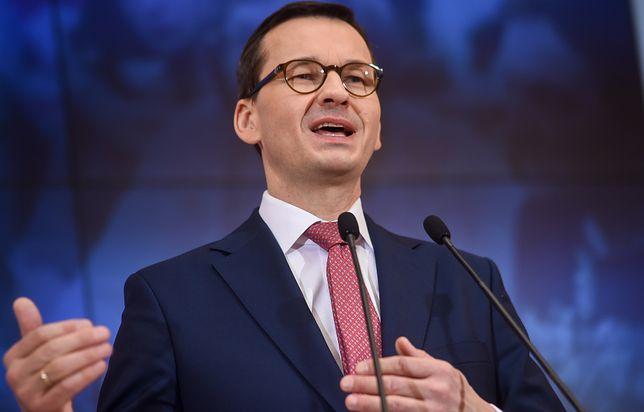"""Mateusz Morawiecki: """"To jest też potrzebne, żebyśmy obronili model naszego górnictwa wobec żądań Unii Europejskiej"""""""