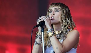 Miley Cyrus podczas Glastonbury Festival 2019