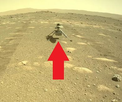 Helikopter NASA niemal gotowy do lotu na Marsie. Nie zgadniecie, co zabrał ze sobą
