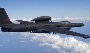 Pierwszy taki lot w historii. U-2 był wysoko w powietrzu, gdy aktualizowano jego systemy