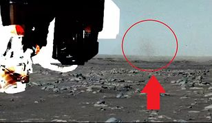 NASA pokazała diabełki pyłowe na Marsie. Nowe zdjęcia łazika Perseverance [Wideo]