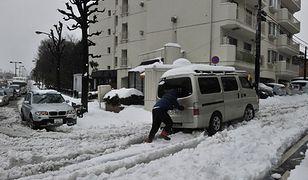 Rośnie liczba ofiar śnieżyc w Japonii