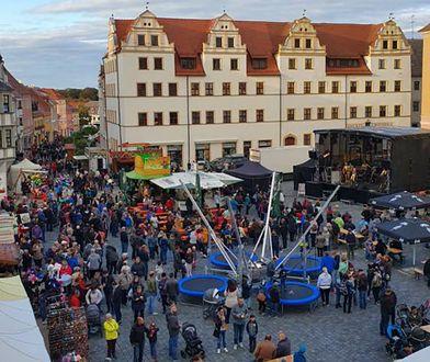 Torgau. To tutaj doszło do skandalu z delegacją ze Strzegomia.