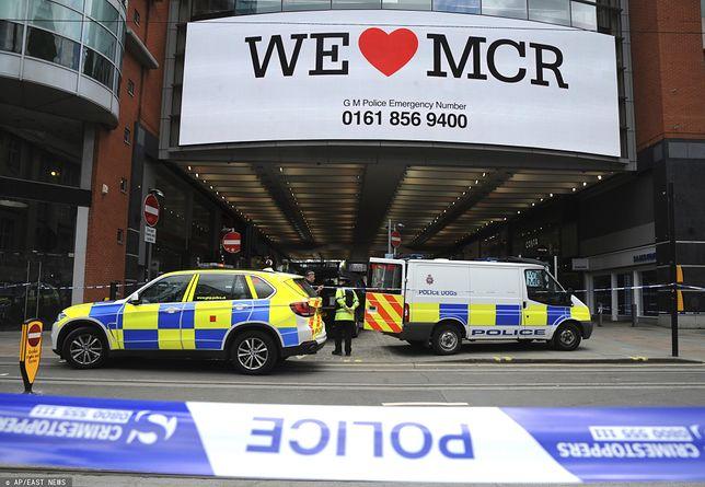 Atak nożownika w Manchesterze. Są ranni