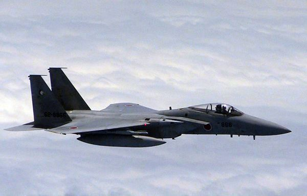 Japonia dementuje, by jej myśliwce weszły w styczność z samolotem chińskim