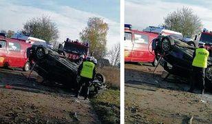Stara Kiszewa. Nie żyje 17-latek. Wypadek auta z nastolatkami na Kaszubach