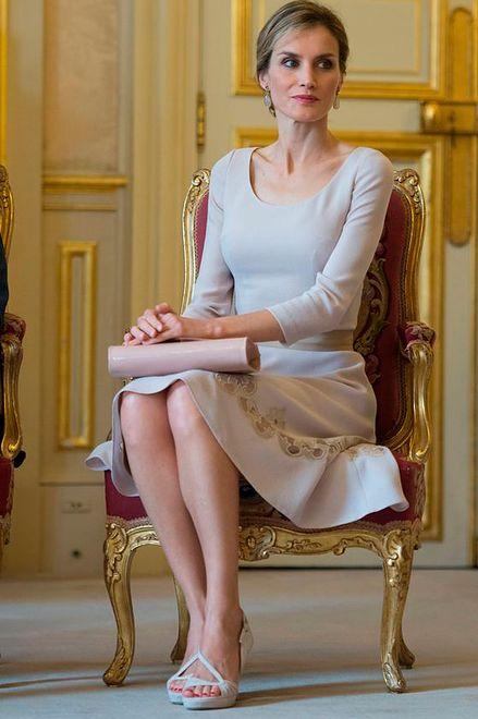 Królowa Letizia podoba się Francuzom