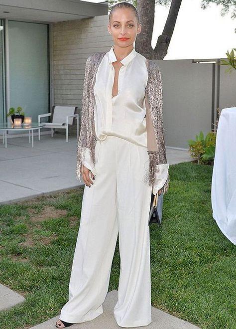 Nicole Richie na premierze kapsułowej kolekcji Rachel Zoe