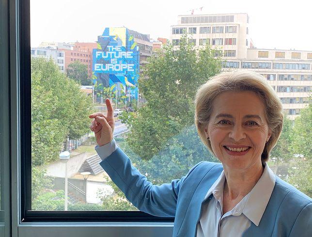 Bruksela. Ursula von der Leyen we wtorek przedstawi skład nowej Komisji Europejskiej
