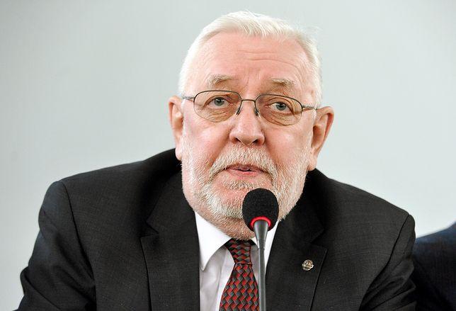 Jerzy Stępień od 2016 r. jest prezesem Instytutu Lecha Wałęsy