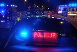 TIR zderzył się z samochodem osobowym w Sosnowcu na S1. Duże utrudnienia