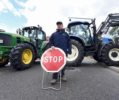 Protest rolników w Warszawie. Utrudnienia w ruchu