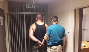 Napad na taksówkarza na Targówku. Policja zatrzymała podejrzanego
